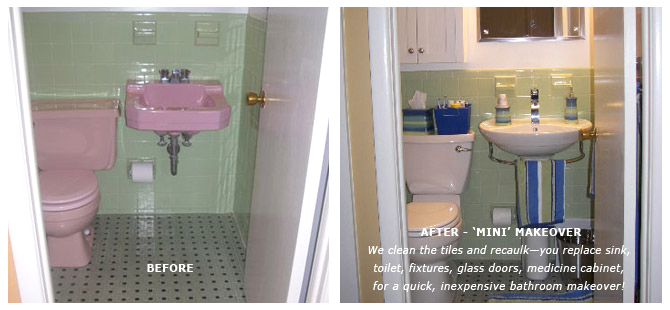 Bathroom makeover service